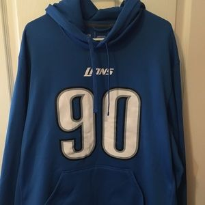 NFL Detroit Lions Thera-fit Hoodie